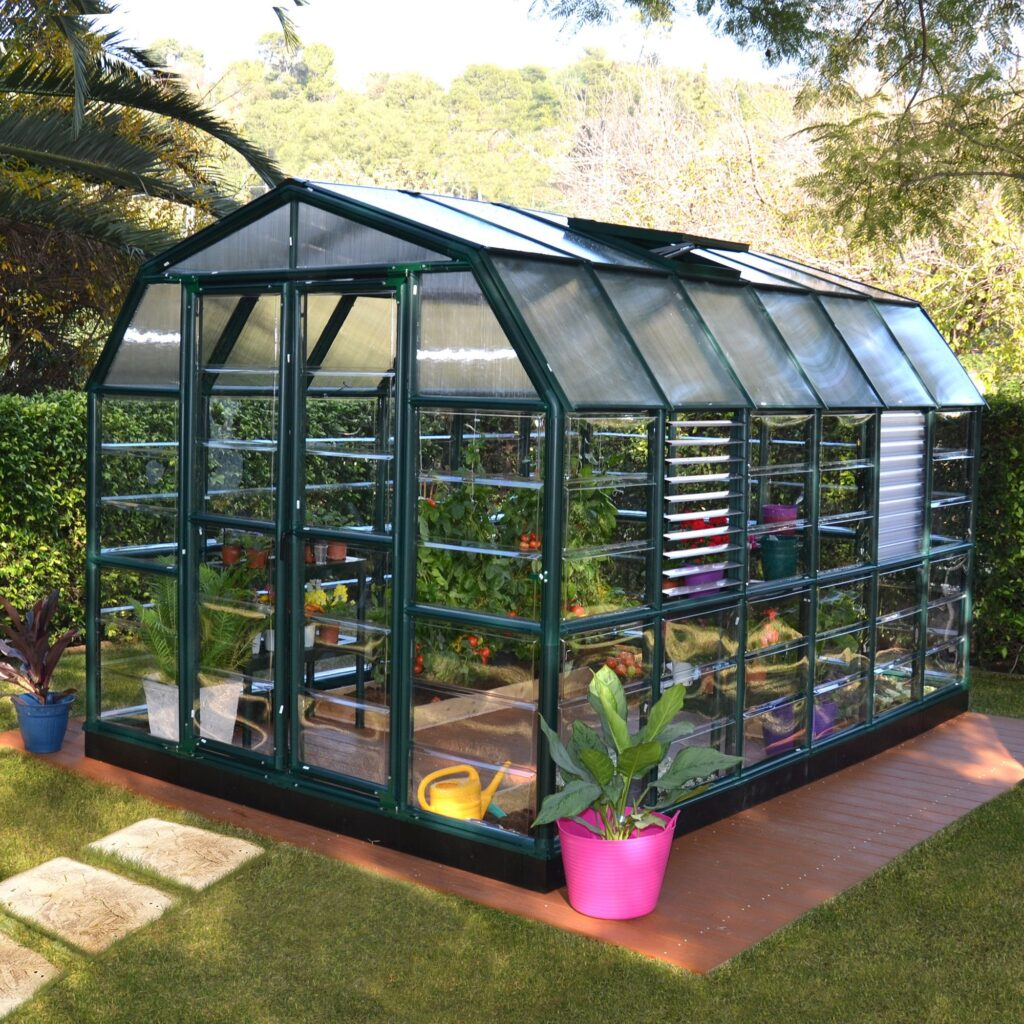About Rion Prestige Polycarbonate Greenhouse